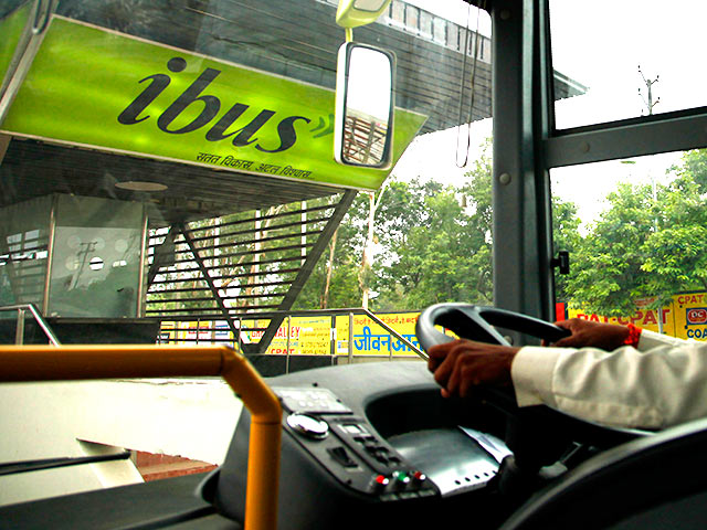 Celebrating 100 days on iBus in Indore.
