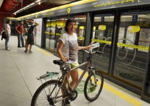 Machado in subway