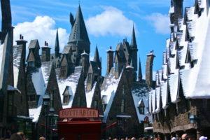 Hogesmeade at Harry Potter World.