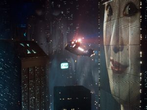 The 1982 film Blade Runner sparked an interesting dialogue on urban planning and the future of our cities, which is still relevant today. Photo courtesy of Blade Runner film.