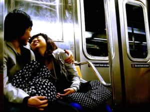 Your decision to ride public transport shows that special someone that you care about the environment, your health, and that you've got great people skills. Photo by Paul Lowry.