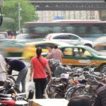 Beijing traffic congestion