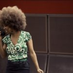 A singer performs in the Chicago subway. Song and dance are no strangers to public transit around the world, and they have the power to transform public spaces frequented by urban residents every day. Photo by Joseph Mietus.