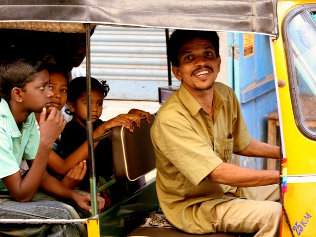Auto-rickshaw in Chennai, Tamil Nadu, India. Photo by Kamakshi Sachidanandam/Flickr.