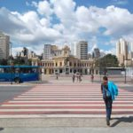 Pedestrian crossing in Belo Horizonte, Brazil. Belo Horizonte is rapidly growing mid-size city. Photo by EMBARQ.