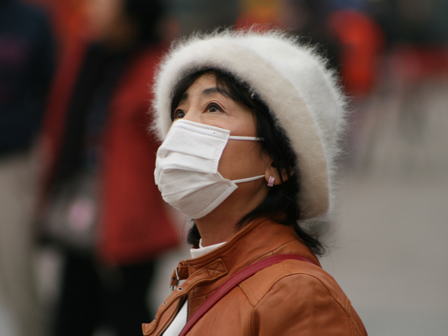 Air quality and smog in China. Photo by Niccoló Mazzati/Flickr.