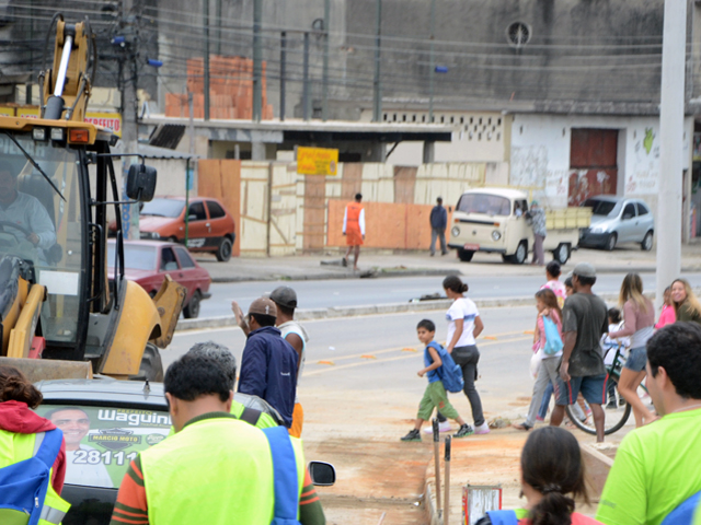 Road safety auditing in Rio de Janeiro. Photo by Mariana Gil/EMBARQ Brazil.