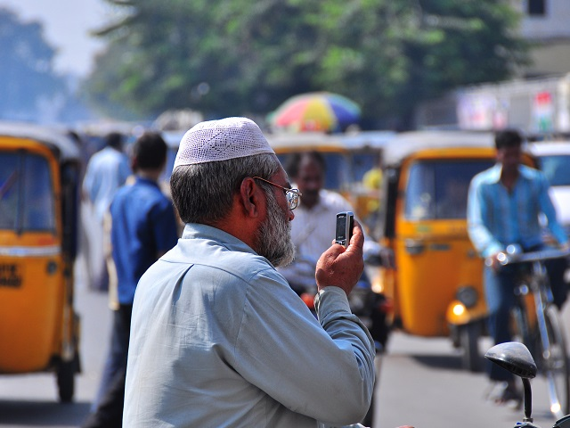 Residents of Hyderabad, India, can use mobile devices to be a part of the planning dialogue---whether it's creating clearer maps of the city or crowdsourcing infrastructure projects. Photo by Nietnagel/Flickr.