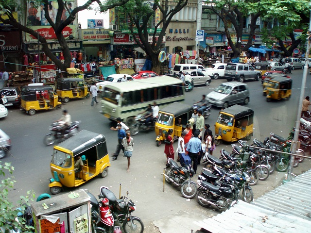 New services are venturing to transform the way the auto-rickshaw sector is managed in Chennai, India - to the benefit of users. Photo by Mattheui Aubry/Flickr.