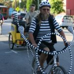 There many creative ways to lower the carbon impact of transport. Some ways are zanier than others. Photo byRichard Masoner / www.cyclelicio.us