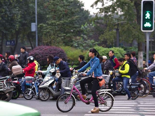 China Transportation Briefing E Bikes And The Challenge