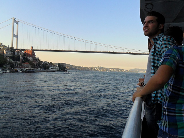 Istanbul, Turkey, like many cities in Europe and Asia are turning towards water transport to combat congestion in growing urban areas. Photo by Axeltriple/Flickr.