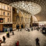 King's Cross Station in London ties together both train and high-speed rail lines, serving as a transport hub for residents in the city and the wider region, and, perhaps, for wizards. Photo by Jim Nix/Flickr.