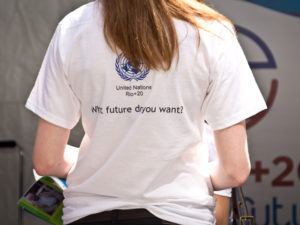 "This month's Bonn climate change negotiations will build on 2012's Rio+20 conference, to ask the sustainable development community the question on everyone's minds, ""what future do you want?"" Photo by Africa Renewal/John Gillespie/Flickr."