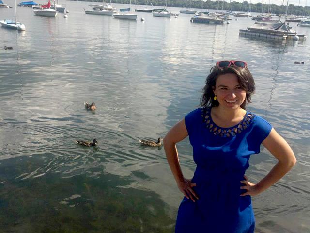 Madeline Brozen, 2014 Lee Schipper Scholar. Photo via Madeline Brozen.