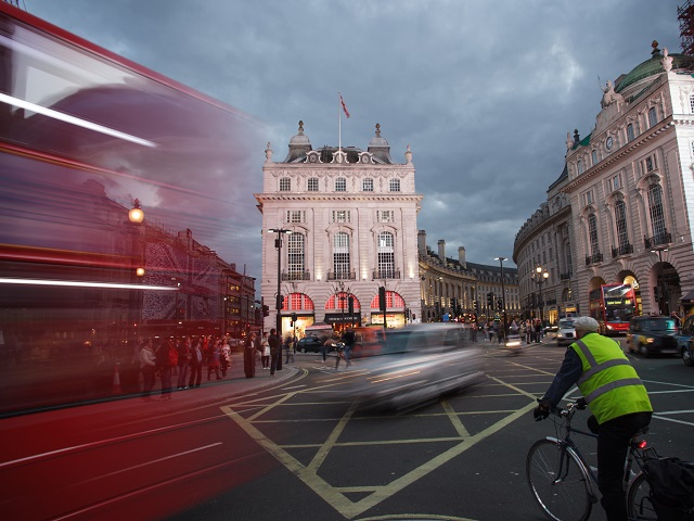 London's congestion charge and Oyster card system – two key achievements of former Mayor Ken Livingstone – have helped lead a modal shift from car usage to public and active transport. Photo by Jimmy Baikovicius/Flickr.