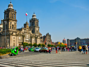 "This week, TheCityFix is live from Mexico City for the tenth International Congress on Sustainable Transport (""X Congreso""). Join us as we explore answers to the question of how to reinvent people-oriented cities. Photo by Justin Swan/Flickr."