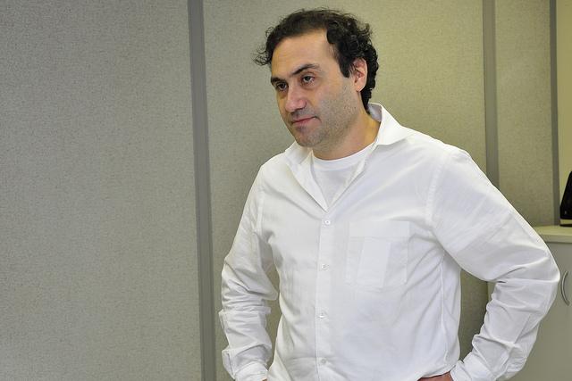 Ciro Biderman, CEO of SPTrans. Photo by Mariana Gil / EMBARQ Brasil.