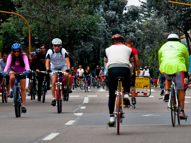 Latin America's ciclovías have inspired cities worldwide to close streets to cars and promote healthy lifestyles and active transport. Photo by Justin Swan/Flickr.