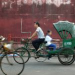 With the right government leadership, the new normal for sustainable transport in Chinese cities will include more transit-oriented development, shared mobility services, and transport innovations from the private sector. Photo by Taro Taylor/Flickr.