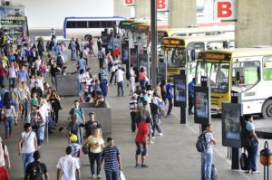 Though only a small part of the solution, Brasilia's new law is a step in the right direction to prevent sexual assault and make urban transport safer for women. Photo by Mariana Gill/EMBARQ Brasil.