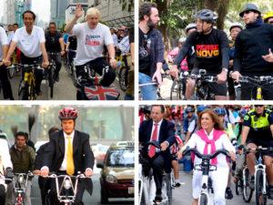 Five mayors who bike