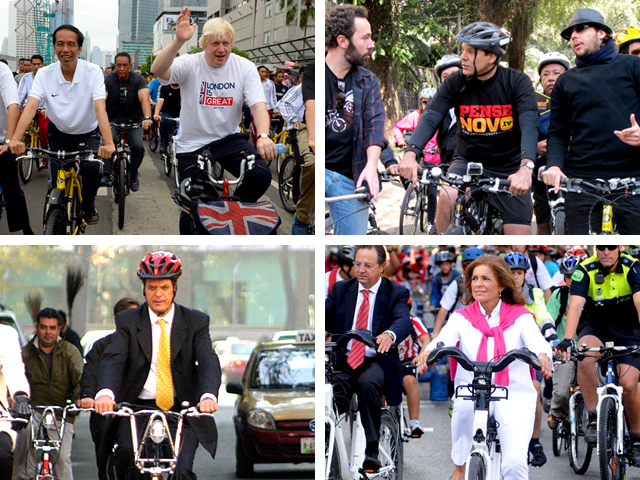 Five mayors who bike
