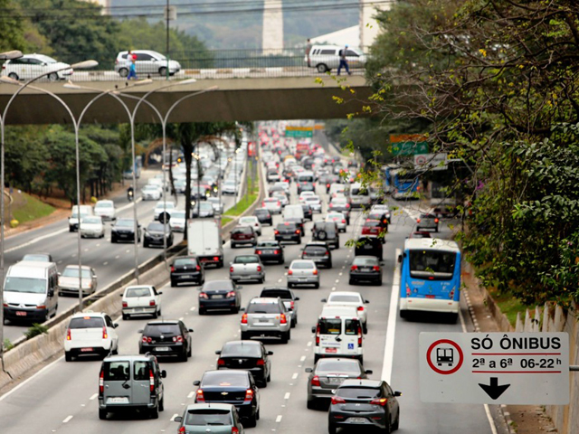 São Paulo: Co-winner of the 2015 Sustainable Transport Award