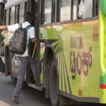 Bangalore's BIG Bus network is bright, colorful, and saves city residents time and money. Photo by Benoit Colin/EMBARQ.