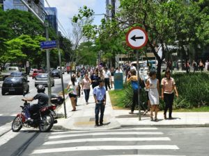 In order to save lives and reduce congestion, São Paulo, Brazil is lowering the speed limit on roads across the city. Photo by Mariana Gil/WRI Brasil Sustainable Cities.