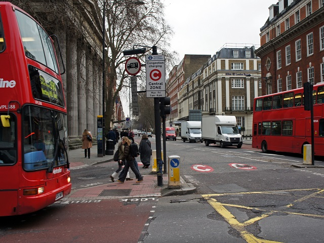 London and congestion charging