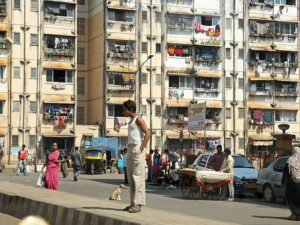 Because buildings in cities like Mumbai, India produce more than 30 percent of global greenhouse gas emissions, improving building efficiency is critical to making cities more sustainable. Photo by Simone D. McCourtie/World Bank.
