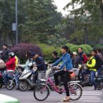 Transitioning from emissions-intensive vehicles to bicycling and other forms of sustainable transport is a priority of China's new Action Plan for Prevention and Control of Air Pollution. Photo by Maciej Hrynczyszyn/Flickr.
