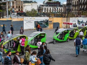 By encouraging car sharing and other TDM strategies, businesses in Mexico City can be part of the solution Mexico City's persistent problems with traffic congestion. Photo by Ted McGrath/Flickr.