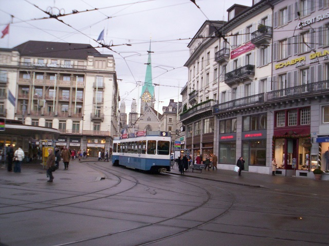 Walkability in Zurich, Switzerland