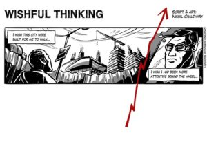 """""""Wishful Thinking"""" Graphic Narrative Feature"""
