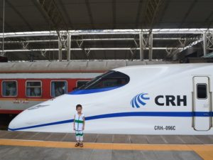 High speed rail connects Zhengzhou with other Chinese cities and has potential to spur compact urban development across the country. Photo by Andrew Stokols.