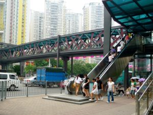 To ensure sustainable urban development, Shenzhen, China has been experimenting with several innovative strategies for financing transit infrastructure. Photo by Chris/Flickr.