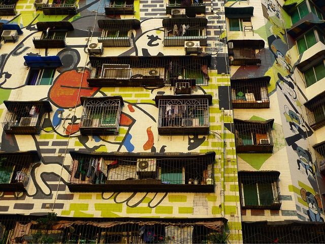 China Graffiti Street Art