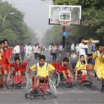 "Gurgaon, India recently celebrated ""Inclusive Raahgiri Day,"" focusing on children with disabilities. Photo by Ajay Gautam."