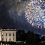 The White House in Washington, D.C. during 4th of July celebrations.  Photo credit: Matthew Straubmuller/Flickr.