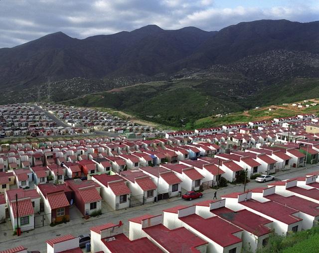 Sprawled Housing in Mexico