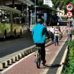Investing in quality transport infrastructure--like bike lanes--can generate $17 trillion or more in savings for cities. Photo by Mariana Gil/EMBARQ Brasil.