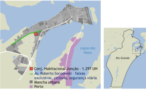Map of MCMV project