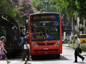 As cities grow and the demand for urban transport increases, some Brazilian cities are revamping their old bus fleets to improve local air quality and decrease emissions.