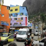 Favelas surrounding Rio de Janeiro, such as Rocinha, use bicycles as a primary means of transport; consequently, efforts to improve mobility in these areas should focus on cycling to foster sustainability and effect the largest impact. (Photo: Robert Cutts / Flickr)