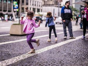 Cities should be designed with the safety of children and pedestrians in mind instead of private vehicles. Photo by Leonardo Veras/Flickr