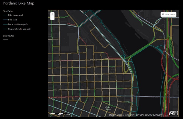 Friday Fun: Two Maps Use Data to Help Cyclists Navigate Cities
