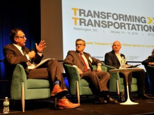 Transforming Transportation kicks off with a focus on integrating policy wi. Photo by Aaron Minnick/WRI