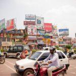 Streets of Bhubaneswar, India